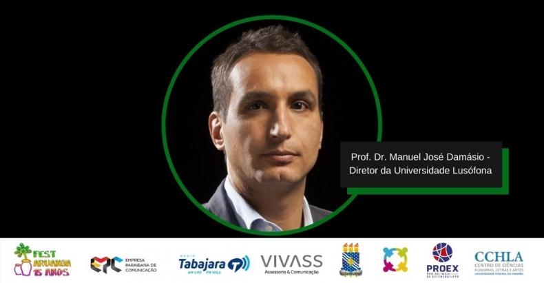 Diretor da Universidade Lusófona, de Portugal, ratifica parceria com Fest Aruanda