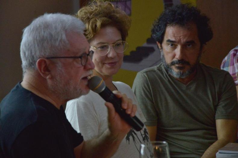 """Supersérie """"Onde Nascem os Fortes"""" é discutida em mesa com Walter Carvalho, Patrícia Pillar e Nanego Lira e Zezita Matos no Fest Aruanda"""